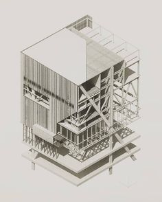 Diagram architectural section, architecture graphics, axonometric drawing. Architecture Presentation Board, Architecture Collage, Architecture Graphics, Architecture Drawings, Architecture Portfolio, Architecture Plan, Architecture Details, Architectural Presentation, Tectonic Architecture