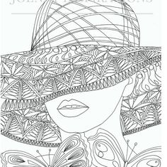 Adult Coloring Book, Printable Coloring Pages, Coloring Pages, Coloring Book for Adults, Instant Download, Faces of the World 2 page 6