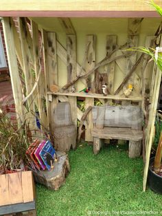 The shed nature play space