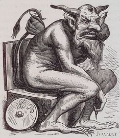 Asmodée: a destructive demon....which, according to some, is the ancient serpent that seduced Eve.