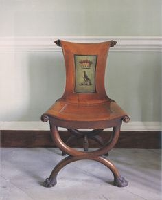 """One of a set of eight Irish mahogany hall chairs, c. probably supplied to the second Earl of Leitrim for Killadoon, Co. Photography by James Fennell and Dara McGrath for """"Irish Furniture"""" by The Knight of Glin and James Peill. Fine Furniture, Furniture Making, Furniture Decor, Furniture Design, Georgian Furniture, Antique Furniture, Love Chair, Antique Chairs, Furniture Inspiration"""