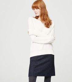 Pointelle Sweatshirt Sweater