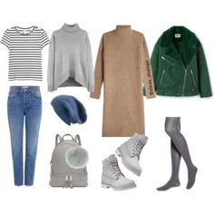 A fashion look from October 2017 featuring camel turtleneck, bunny top and rib t shirt. Fashion Capsule, Malene Birger, Derek Lam, Brooks Brothers, Kid Shoes, Monki, Timberland, Polyvore Fashion, Autumn Fashion