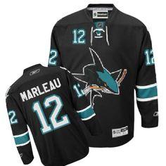 c21ba0581 Patrick Marleau-Buy 100% official Reebok Patrick Marleau Men s Authentic Black  Jersey NHL San Jose Sharks  12 Third Free Shipping.