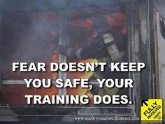Firefighting Fear doesn't keep you safe Training does. Firefighter Recruitment, Firefighter School, Firefighter Humor, Firefighter Training, Firefighter Wedding, Firefighter Love, Volunteer Firefighter, Firefighters, Firemen