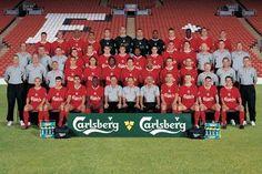 Squad Photos, Team Photos, Milan Baros, Liverpool Fc Team, Michael Owen, West Brom, Sheffield United, Middlesbrough, Fa Cup