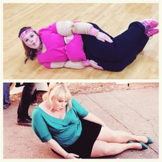 Fat Amy costume!! Pitch perfect!! Lol @ my sister