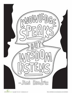 Color Your World With Inspiration And Wisdom These Quote Coloring Pages Also Double As Pretty