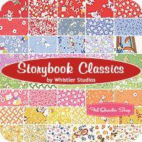 Storybook Classics Charm Pack Whistler Studios for Windham Fabrics - Fat Quarter Shop