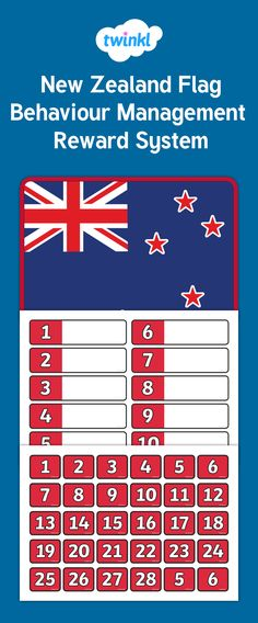 A fantastic New Zealand themed reward system that is user friendly and encourages great behaviour. Behaviour Management, Behavior, New Zealand Flag, Classroom Organisation, Reward System, Encouragement, Learning, News, Behance