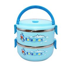 DOREAMON Lunch Box 2Layer Stainless Steel | Lazada Malaysia