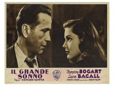 The Big Sleep, 1946 - Humphrey Bogart, Lauren Bacall