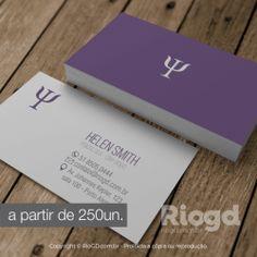 Cartão de Visita - Violeta
