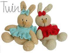 Ravelry: Baby Bunnies pattern by Ala Ela