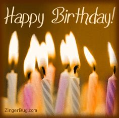 Happy Birthday Animation Pic With Name | Birthday - Gif ...
