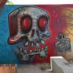 Painted today aswell #italia#graffiti#sweden#göteborg#cagliari#cagliaritattooconvention#art#streetart#mtn94#setar