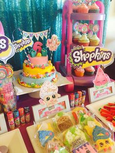 Shopkins on Pinterest | Polka Dot Birthday, Carnival Parties and Streamers