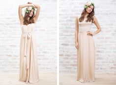 Romantic bridesmaid dresses @papercrownluvsu from @laurenconrad1