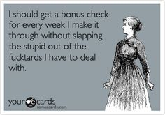 Bonus Check  **  Cha-Ching!!  **