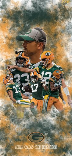 Green Bay Packers Wallpaper, Green Bay Packers Fans, Cool Football Pictures, Football And Basketball, Football Stuff, More Wallpaper, Dream Art, Football Season, Art Pieces