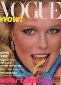 Nancy Donahue  -  Vogue March 1979