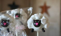 Mom's Killer Cakes & Cookies Sheep Cake Pops Perfect For Easter Southern Living Featured Shop. $36.50, via Etsy.