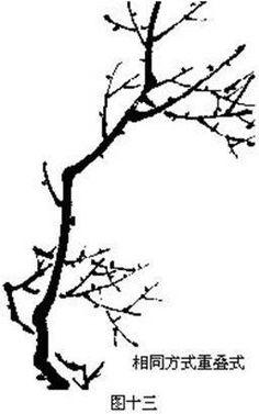 技术贴|梅花的各种画法_伍佰艺书画网_传送门