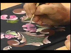 DVD Pintura Bauer com Gabi Vargas - Vitrine do Artesanato
