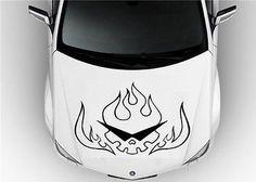 Hood Auto Car Vinyl Decal Stickers Logo Tengen Toppa Gurren Lagann 7265