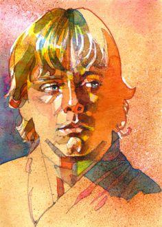 Luke by Mark McHaley