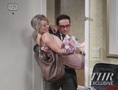 'Big Bang Theory' Penny Leonard Wedding Photos - Hollywood Reporter