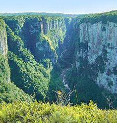 Onde encontrar LOBO_GUARA Canyon Itaimbezinho no Parque Nacional de Aparados da Serra (Carla POlaz)