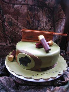 Turkey Hunting Cake