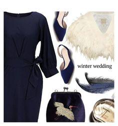 """True Romance: Winter Wedding"" by meyli-meyli ❤ liked on Polyvore featuring Biba, Chanel and winterwedding"