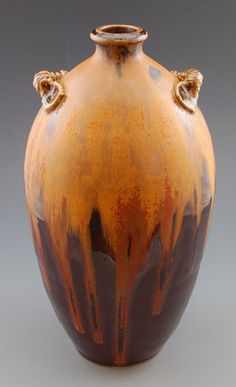 John Post's pot. Amazing glazes for cone 6 oxidation.
