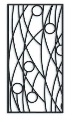 Reeds v2 Fretwork MDF Screen