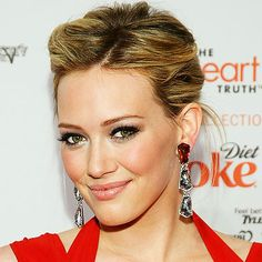 sexy hilary duff updo hairstyles 4