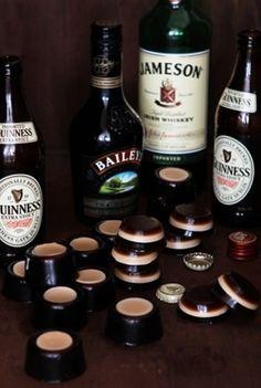 Booze Bites: Irish Car Bomb Jell-O Shots