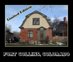 This beautiful house is part of what makes Old Town, Fort Collins unique.