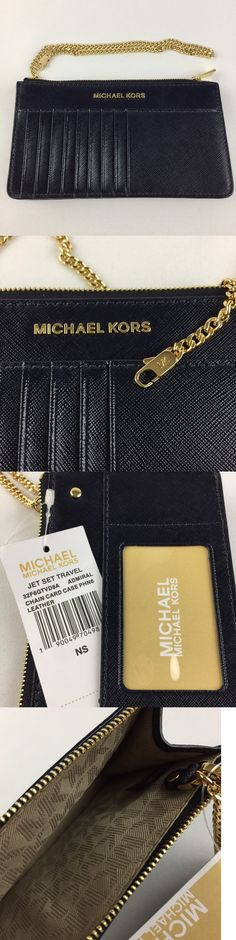 Business and Credit Card Cases 105544: Mk Michael Kors Jet Set Travel Patent-Leather Smartphone Card Pouch 32F6gtvd8a -> BUY IT NOW ONLY: $69 on eBay!