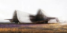 China's pavilion for Milan 2015 expo to feature wavy roof and indoor crop field