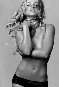 striving for this tummy with my belly button ring