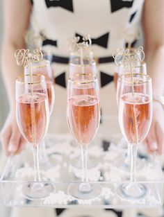 Pink Champagne Signature Cocktail | Abby Jiu Photography https://www.theknot.com/marketplace/abby-jiu-photography-washington-dc-613164