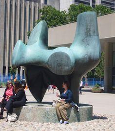 in Toronto- Henry Moore