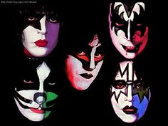 Kiss Pictures, Poster Pictures, Death Metal, Kiss World, Kiss Tattoos, Kiss Members, 80s Hair Bands, Kiss Art, Hot Band