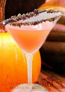 Pumpkin Spice Cocktail. I would greatly appreciate it if someone would make this for me and have it ready  when I walk in the door   after work :)