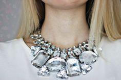 Stunning statement necklace