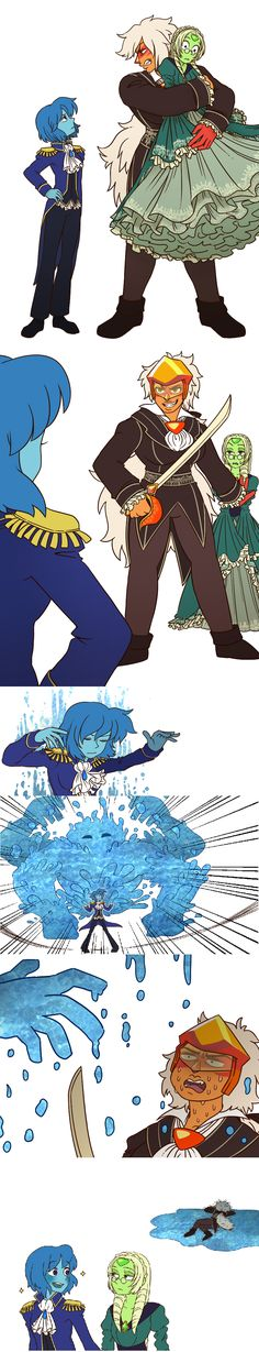 Lapis's Stand: Empress Aqua >>> What is this and why (secretly likes it)