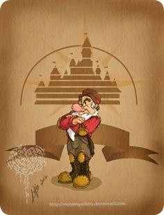 Disney steampunk: Grumpy by MecaniqueFairy on @DeviantArt