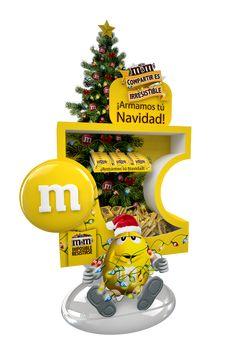 Floor Display M&M Navidad / Halloween on Behance
